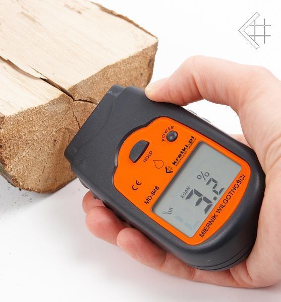 termometru umiditate lemn